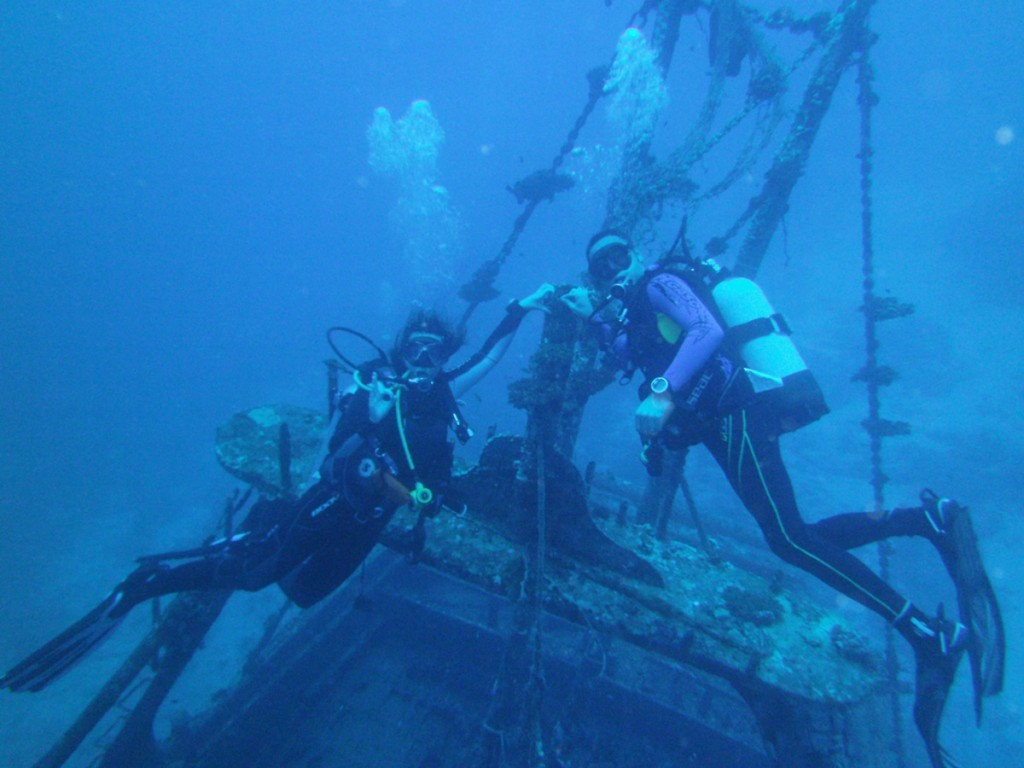 Dive Time Underwater Wrack Tauchen