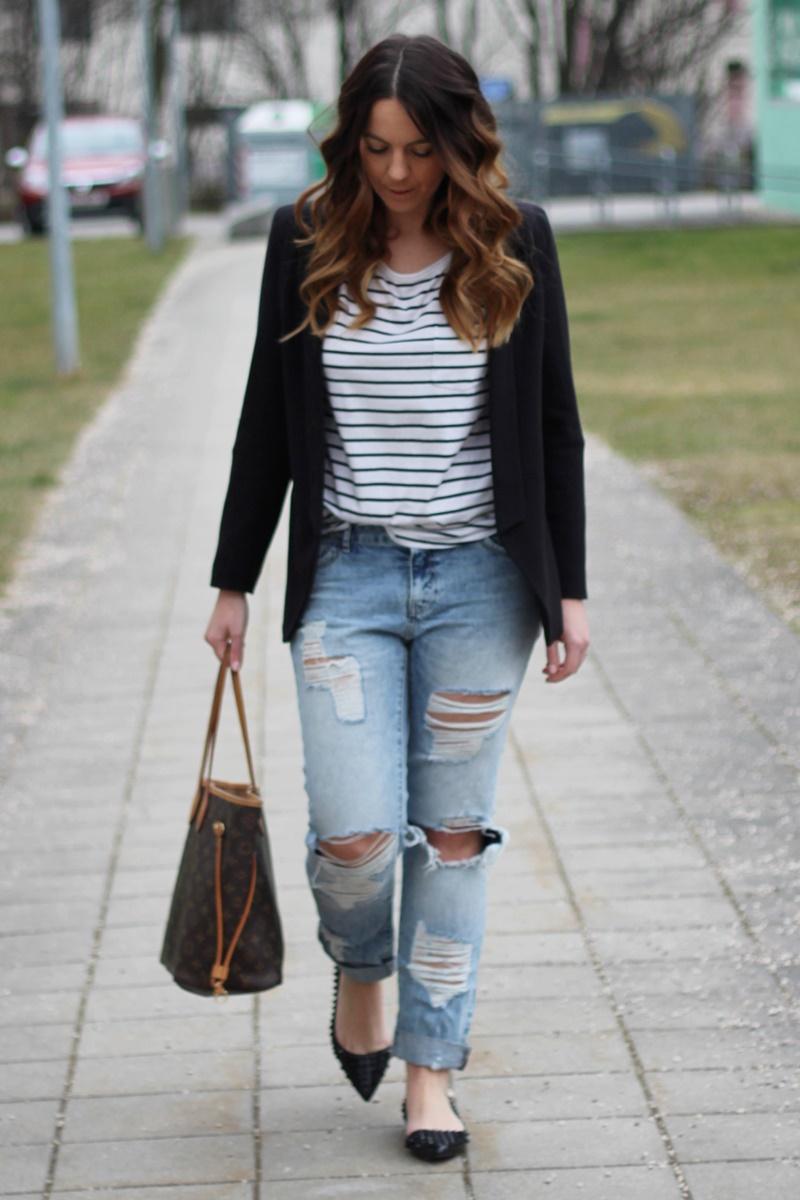 Outfit Stripes vs. Chanel Brosche Canello3