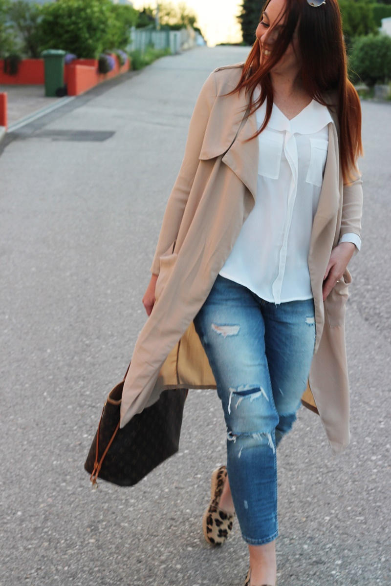 Outfit Trench Attitude11