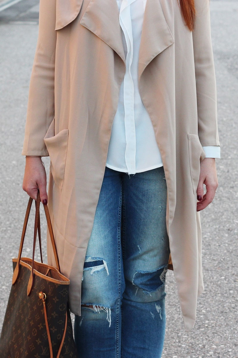 Outfit Trench Attitude6