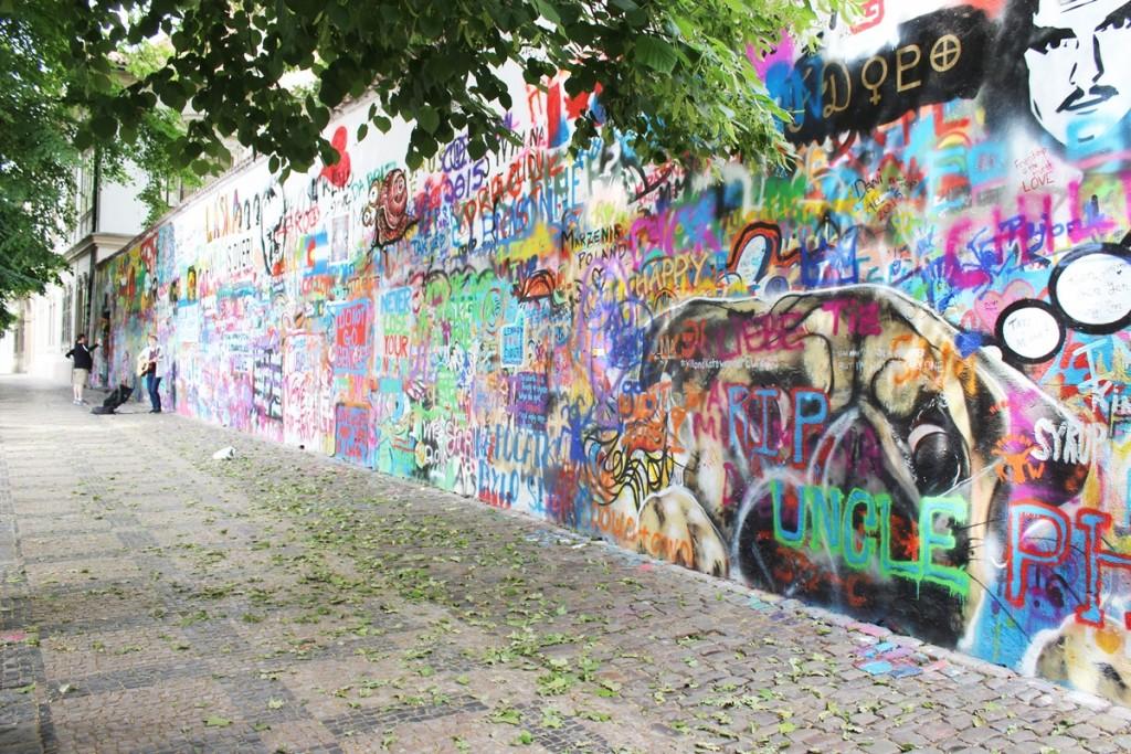 Prager Kleinseite John Lennon Wall Mauer
