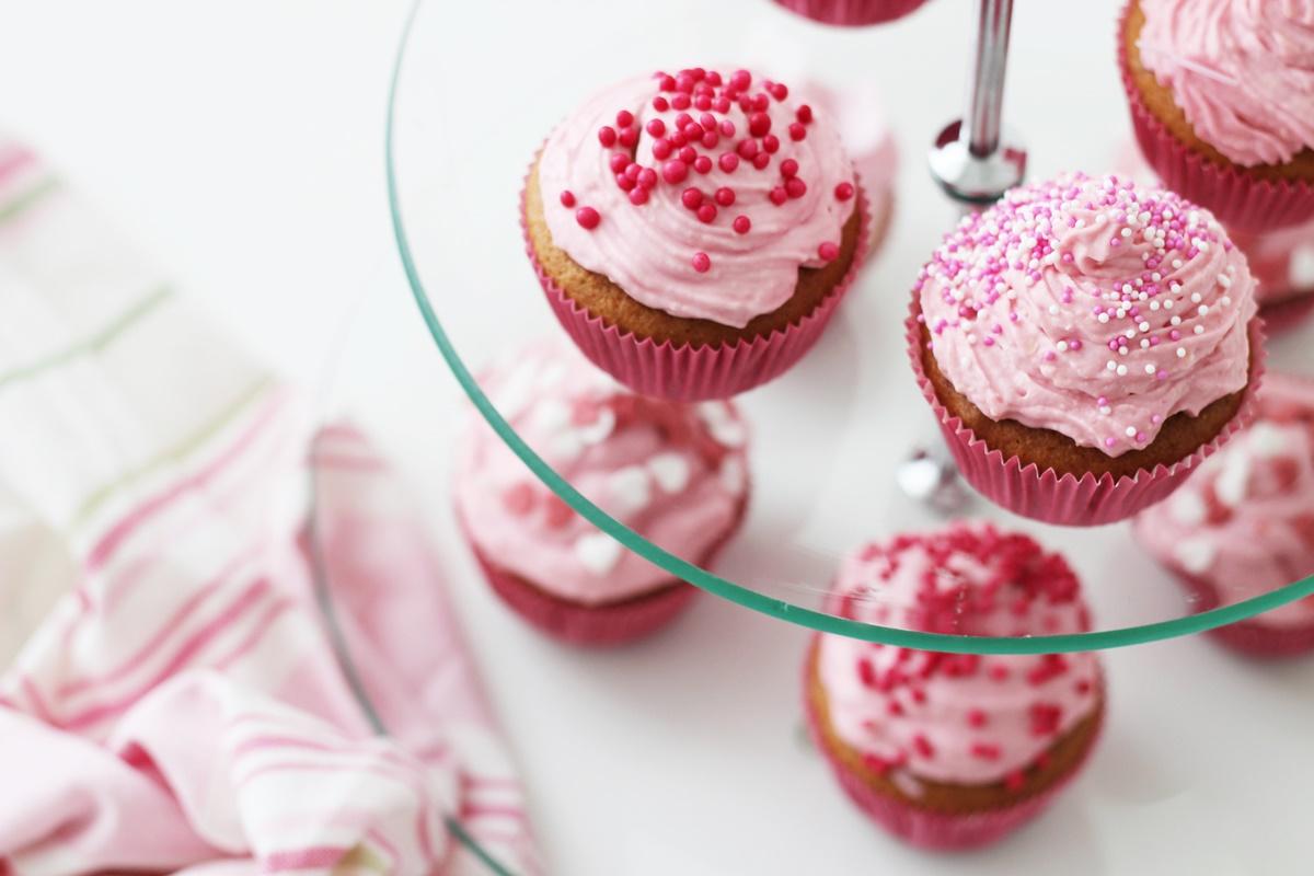 Recipe: Cupcakes Strawberry-Cheesecake
