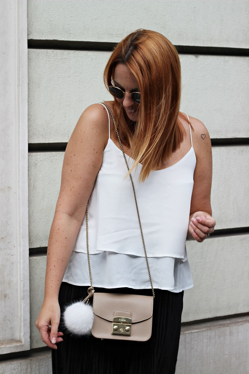 Plissee Culottes Outfit 6