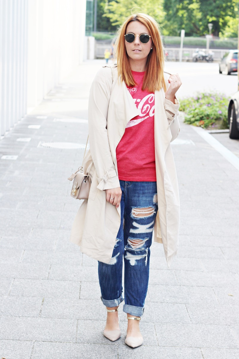Trench it up Outfit 1