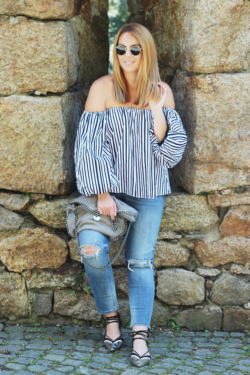 Stripes On Chicwish Outfit 1