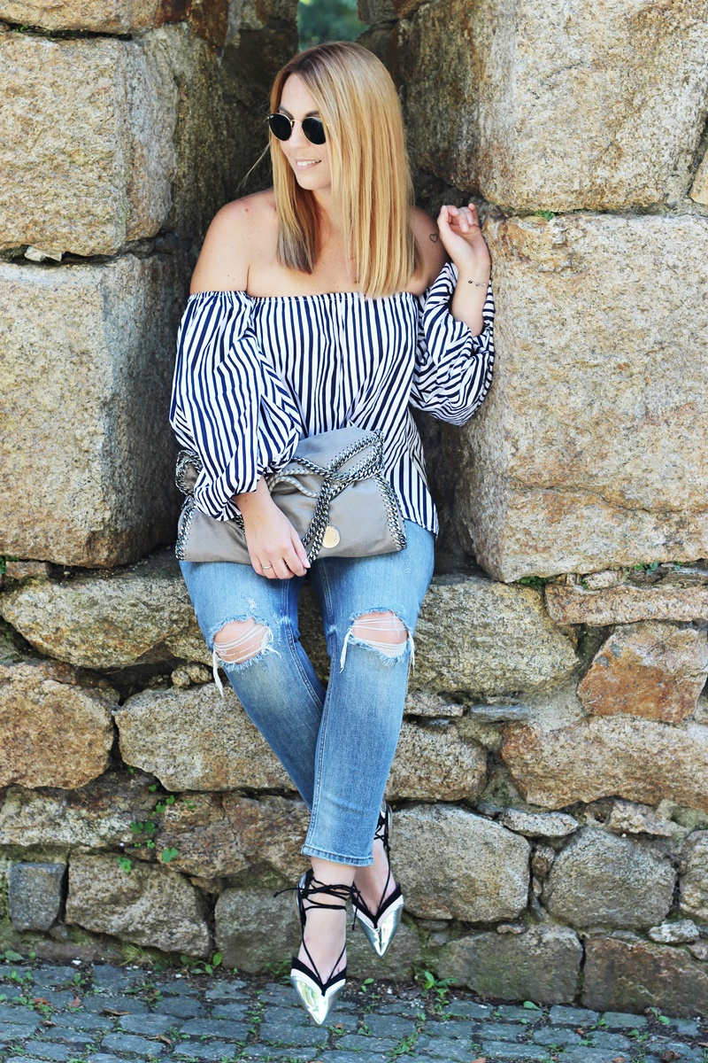 Stripes On Chicwish Outfit 16