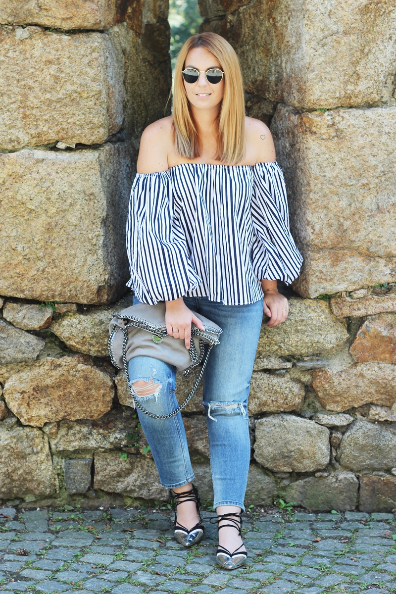 Stripes On Chicwish Outfit 3
