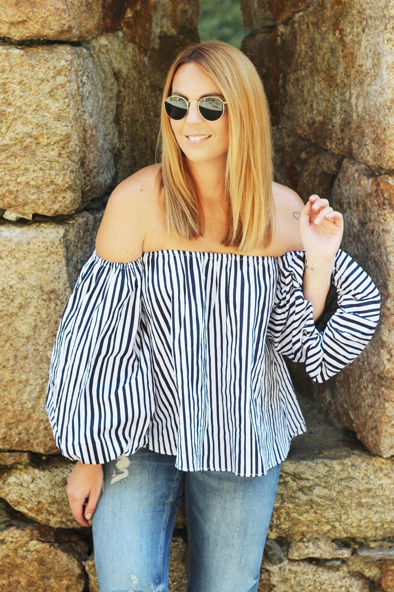 Stripes On Chicwish Outfit 6