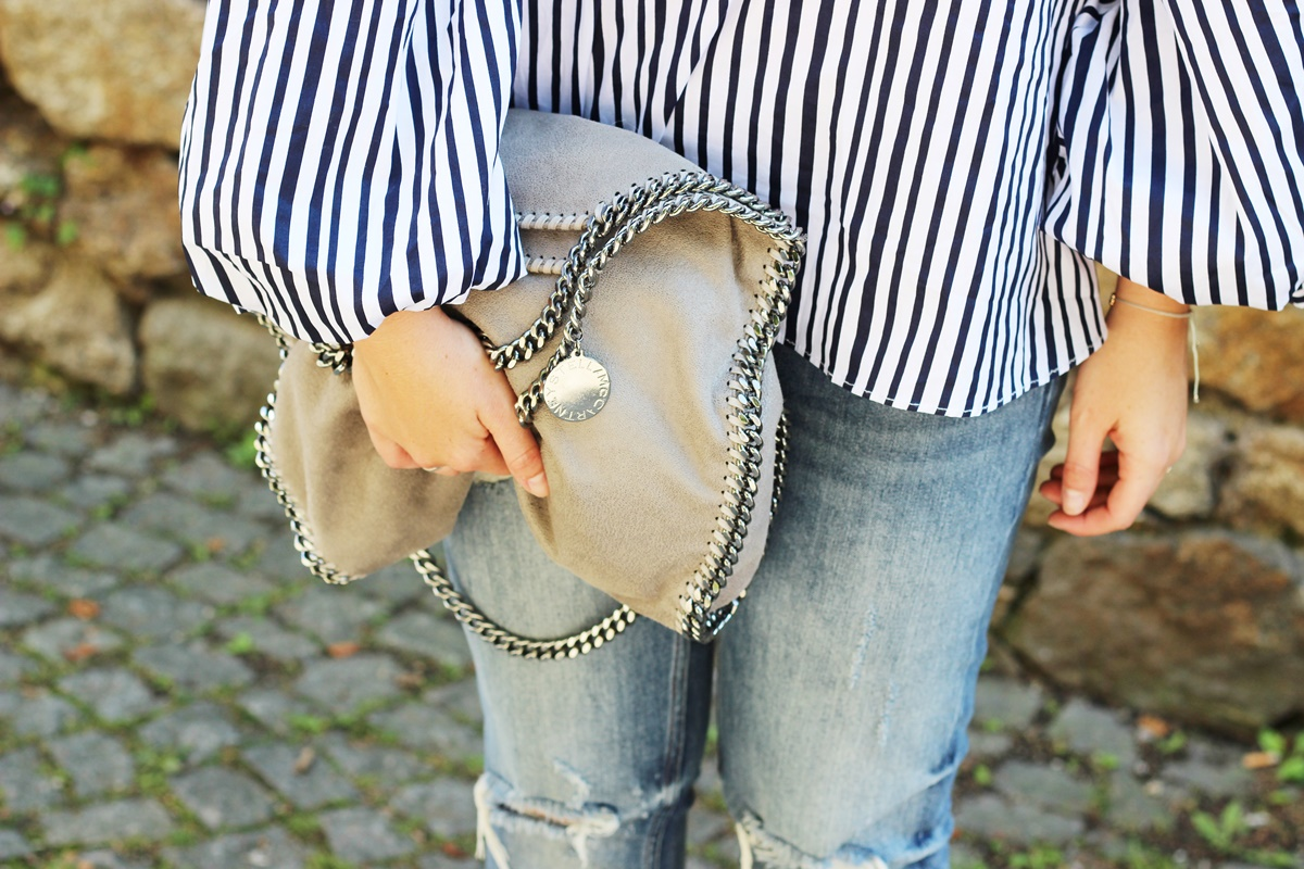 Stripes On Chicwish Outfit 9