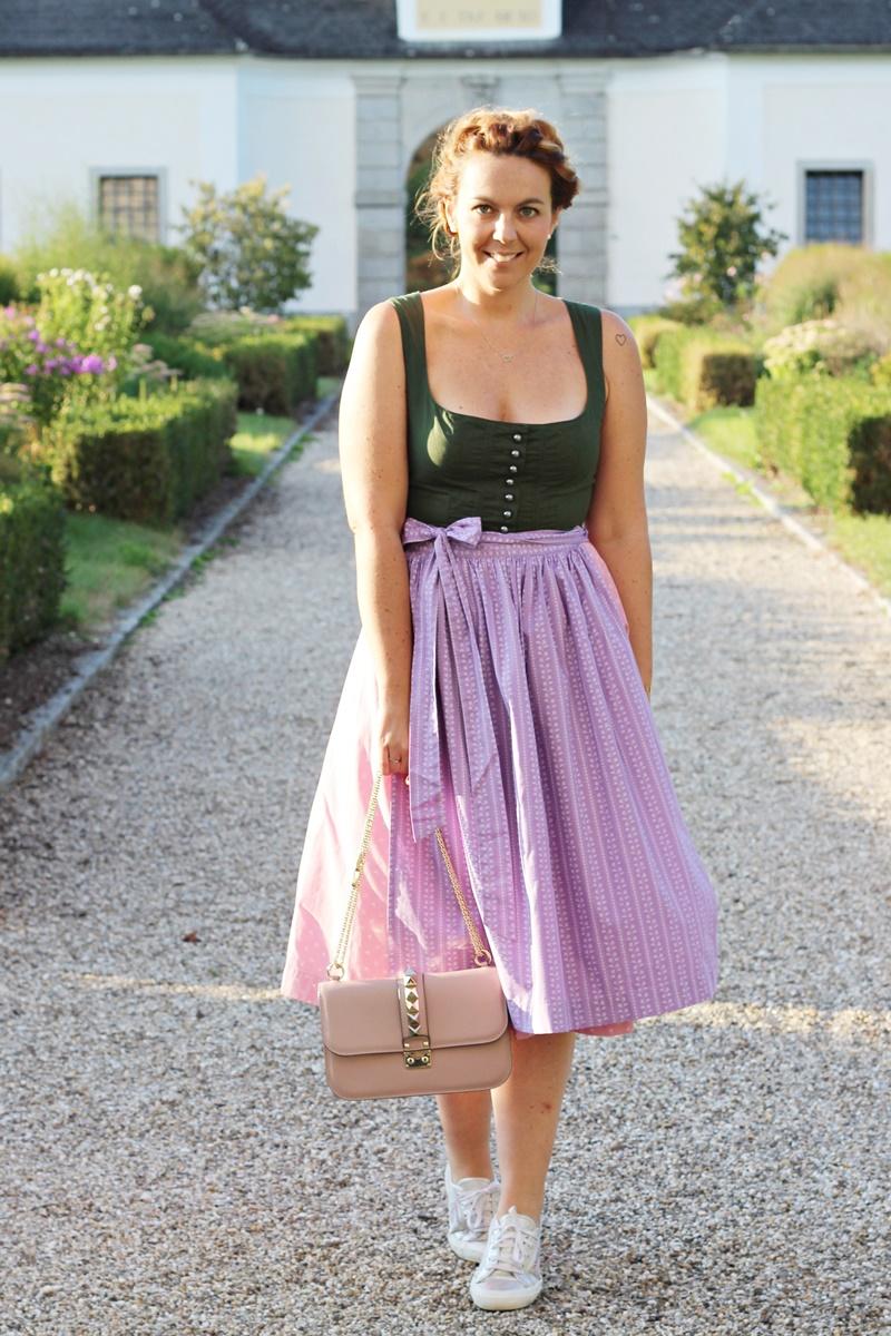 Blog Your Style Oktoberfest Attire Outfit Ausseer Dirndl 1