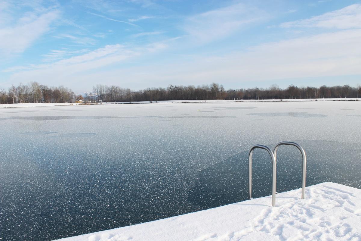 Guten start in die neue woche winter